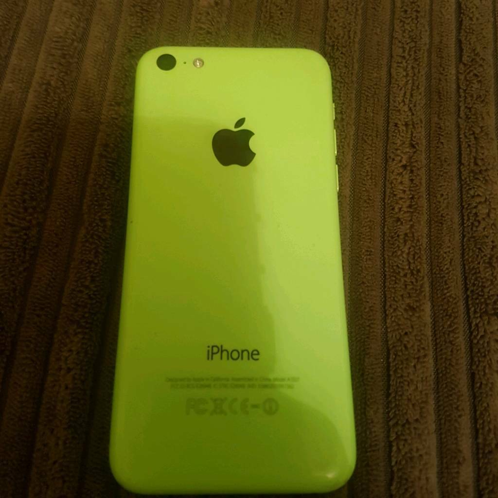 iphone 5c on 3 network in green