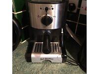 Brand new jack stonemen professional coffee machine with milk froffer