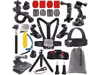 GoPro and other action cam accessories - 20 piece set, can be sold separately. BRAND NEW