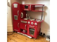 Children's wooden toy kitchen (used)