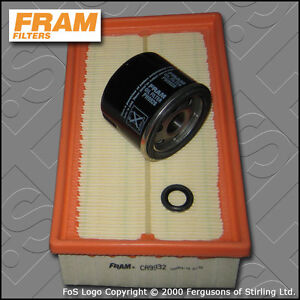 service kit renault clio mk3 1 2 16v tce fram oil air filter 07 12 ebay. Black Bedroom Furniture Sets. Home Design Ideas