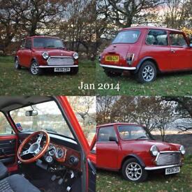 Classic Rover Mini Mayfair, Genuine Film Car (Wild Target 2010)