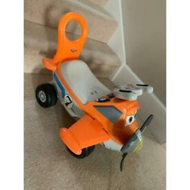 Dusty the Plane toddler ride-on toy
