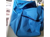 Addias water resistant sports bag New & Nike backpack
