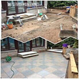 GARDENING SERVICES & LANDSCAPING ///AKI Service maintenance