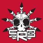 SRB sticker Red