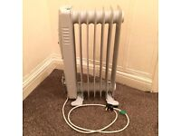 Bionaire Oil Filled Radiator Portable Electric Heater Thermostat Control