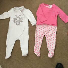 2 brand new baby grow all in one 6-9 month