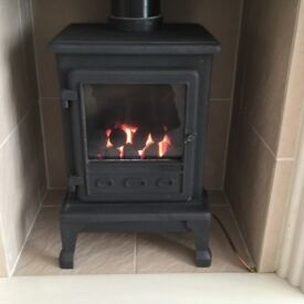Firefox 5 Gas Stove Made of Cast Iron. Hardly used very efficient, a great bargain