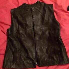 Ted Baker leather waist coat