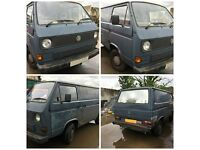 Vw Transporter 78ps Panel Van 1989 1915cc Petrol Complete Engine and box DG158124