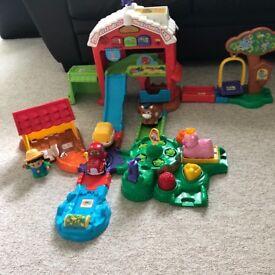 Toot toot Farmyard set