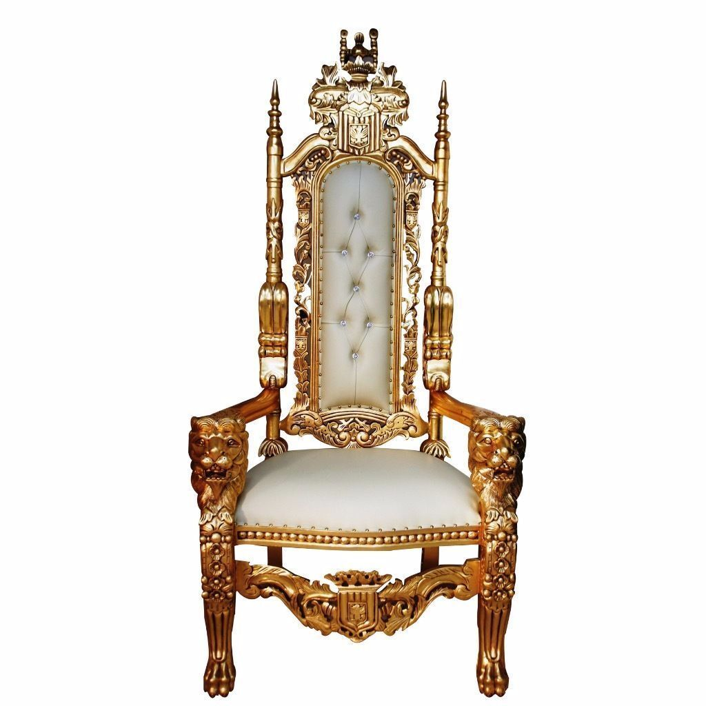 Ornate Bedroom Chairs 2 X Lion King Throne Chairs Gold Leaf Ornate Asian Wedding