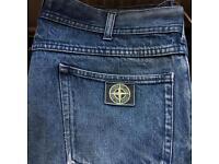 """Vintage Stone Island Jeans 36""""-34"""" waist."""