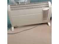 Dimples convector heater