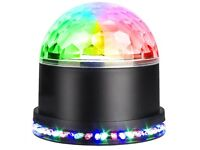Crystal Magic Ball Disco DJ Strobe Lights