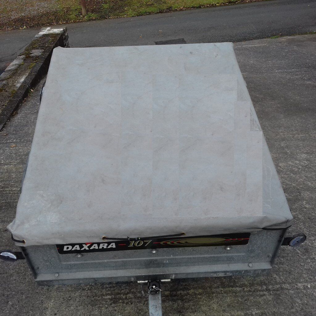 Trailer Daxara 107 Fully Galvanised 4' x 3' Comes with Cover - Great Condition