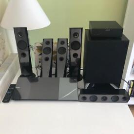 Sony BDV-N7200W home cinema system for collection from Coalville.