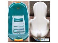 Baby Bathtub and Bath Chair