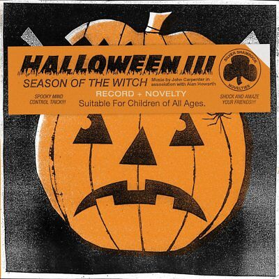 HALLOWEEN III 3 : SEASON OF THE WITCH (ORANGE & BLACK) LP DEATH WALTZ / MONDO   - Halloween Iii Deaths