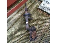 Vauxhall Astra Mk3 Offside front suspension leg and springs