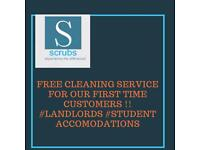 Free cleaning service