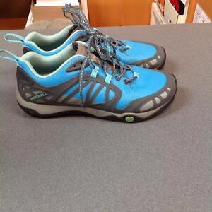 Merrell Ladies Trail Runner 9 Blue/Grey (SKU:VTGHUS)