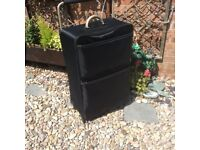 LARGE LIGHTWEIGHT SUITCASE. (used once)