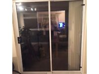 Patio doors white upvc
