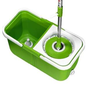 NEW Big Boss Instamop, The Spinning Action Mop, Green