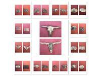Various belt buckles. £3.50 each