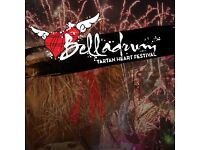 3 day adult Camping Belladrum ticket