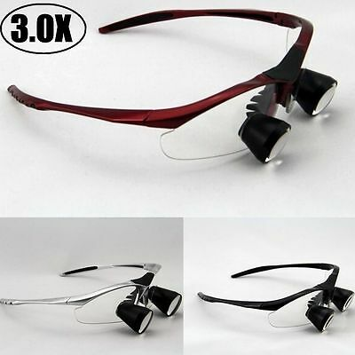 High End 3.0x Dental Loupes Binocular Medical Loupe Surgical Magnifier Glass Ttl