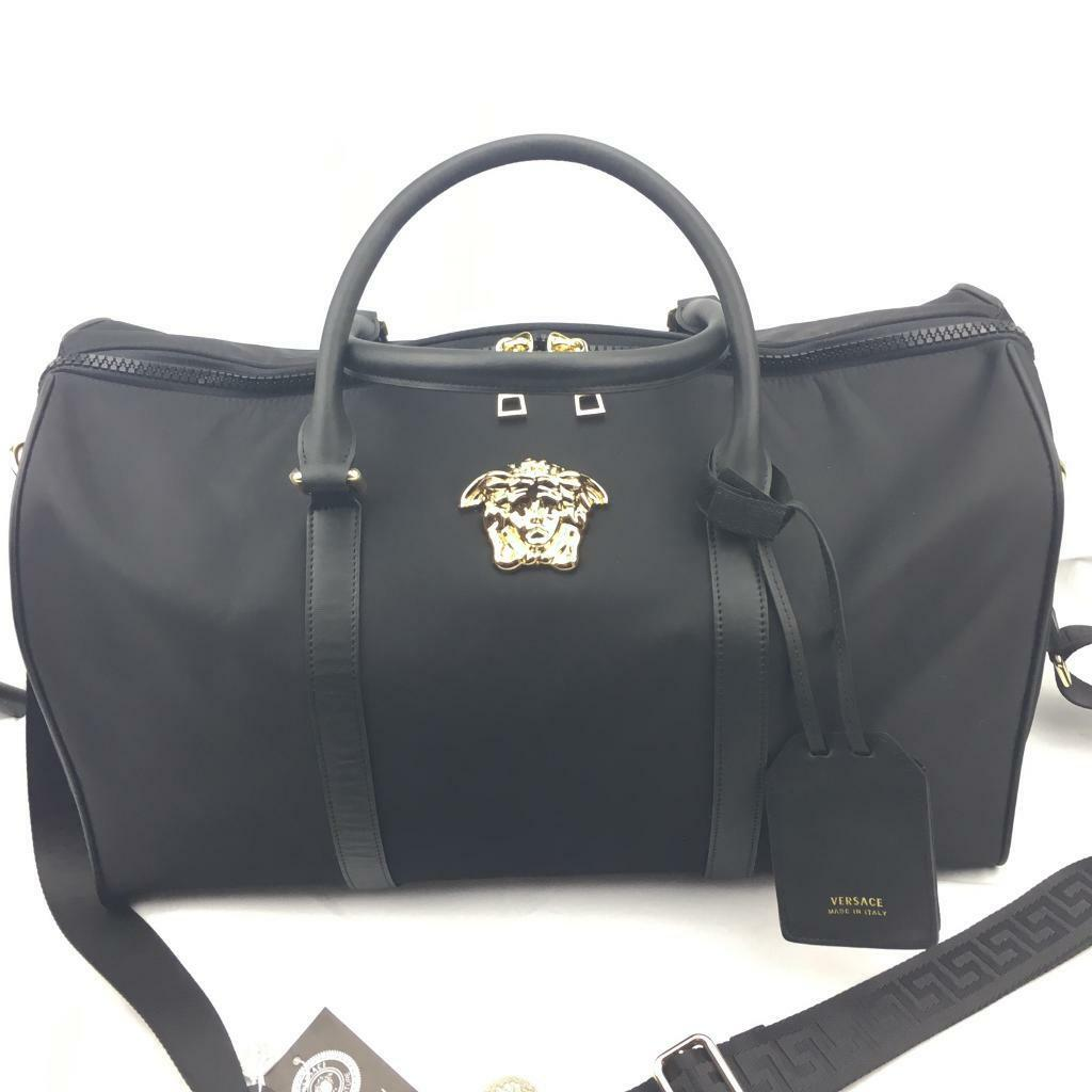 ... new style 0d6a3 cf89c Versace palazzo weekend hold-all designer bag ... 6c70580043c68