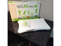 Nintendo wifi fit plus board and game