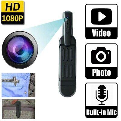 1080P HD Mini Spy Hidden Pocket Pen Camera Portable Body Video Recorder DVR  UK