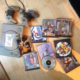 Ps1, two controllers and games