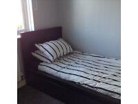 Black Ikea Single Malm Bed