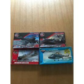 4 model aircraft