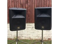 EV Sx200 speakers (pair with stands)