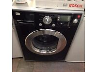 LG WASHING MACHINE 8KG BLACK LIMITED EDITION RECONDITIONED