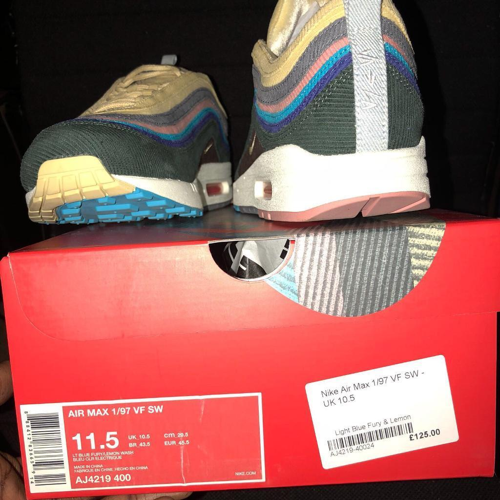 988d9f74a3 Air max 1/97 Sean wotherspoon uk 10.5 REAL | in East Ham, London ...