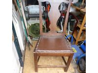 OLD/VINTAGE WOODEN CHAIR