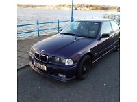 Relisted **BMW 318ti E36 rare techno violet factory fitted M sport model