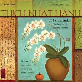 Thich Nhat Hanh 2018 wall calendars