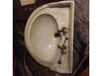 Antique Jacob Delafon bathroom sink