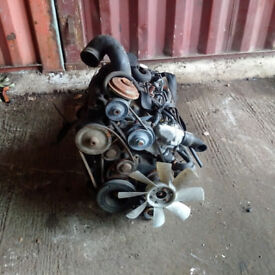 PEUGEOT 505 2.5 diesel engine and gearbox for PEUGEOT 505 van.