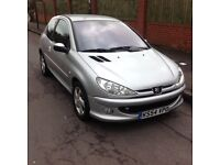 54/05 Peugeot 206 1.6 quicksilver 12 mouths mot