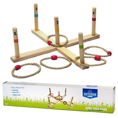 Outdoor Holz Spiel Set Wurfspiel! Neu &