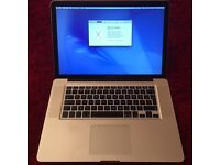 """MacBook Pro 15"""" 2.66GHz 4GB, always had screen protector, body has minor scratches mainly on bottom."""